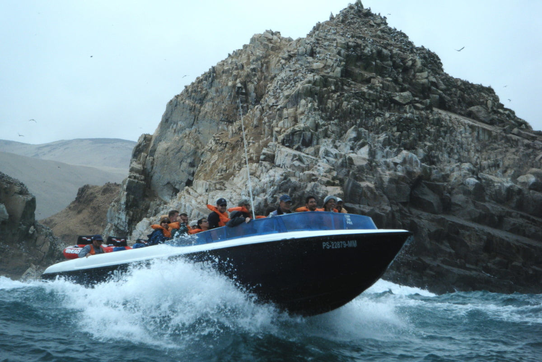 Balade en bateau aux îles Palomino