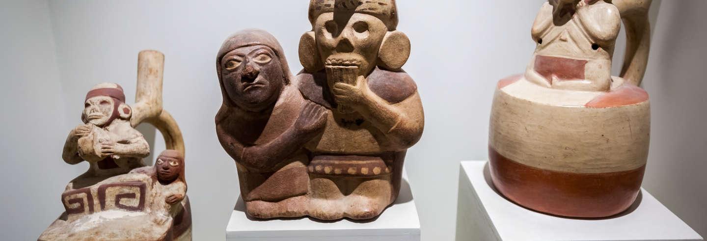 Tour por el Museo Larco Herrera y Huaca Pucllana