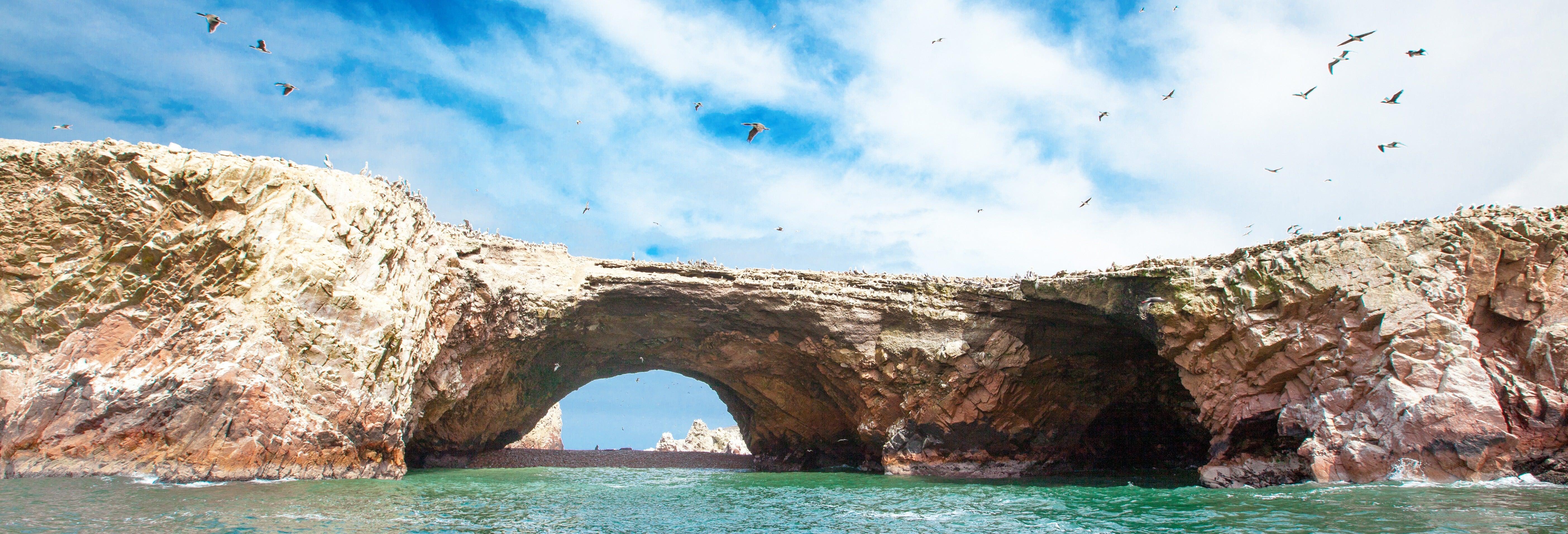Paseo en lancha rápida a Islas Ballestas