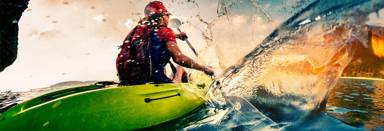 Tour privado en kayak por Playa el Pirata y el Candelabro
