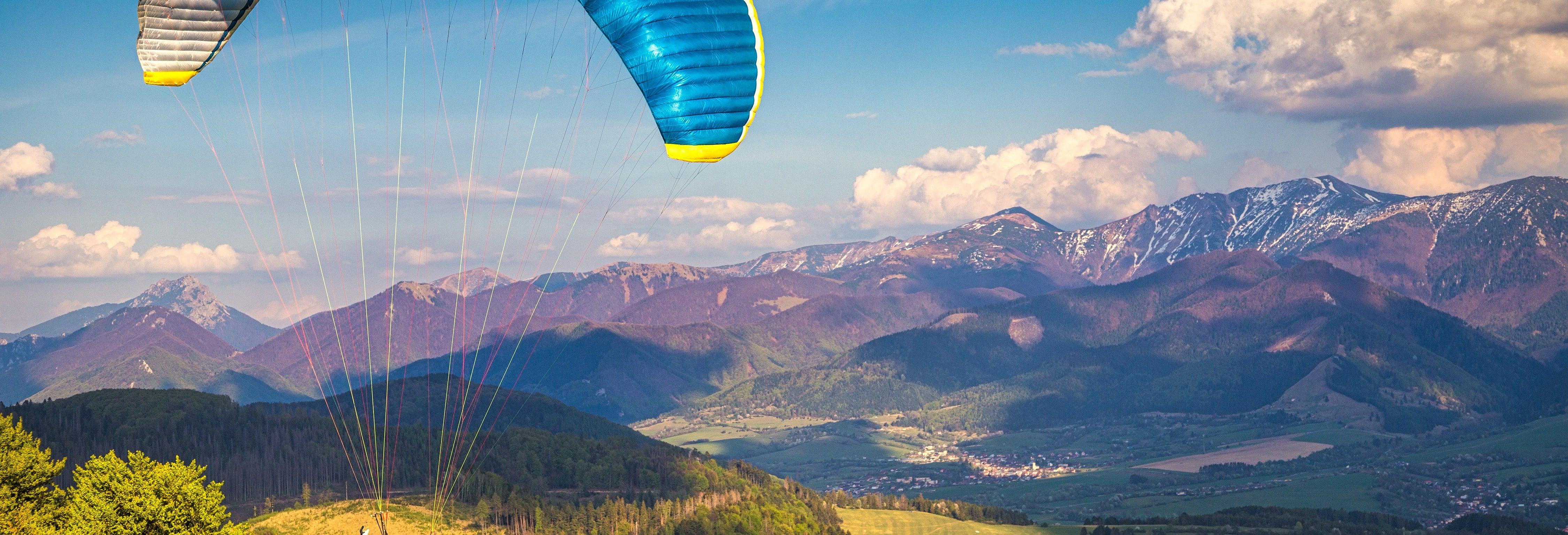 Vuelo en parapente por la Reserva Nacional de Paracas