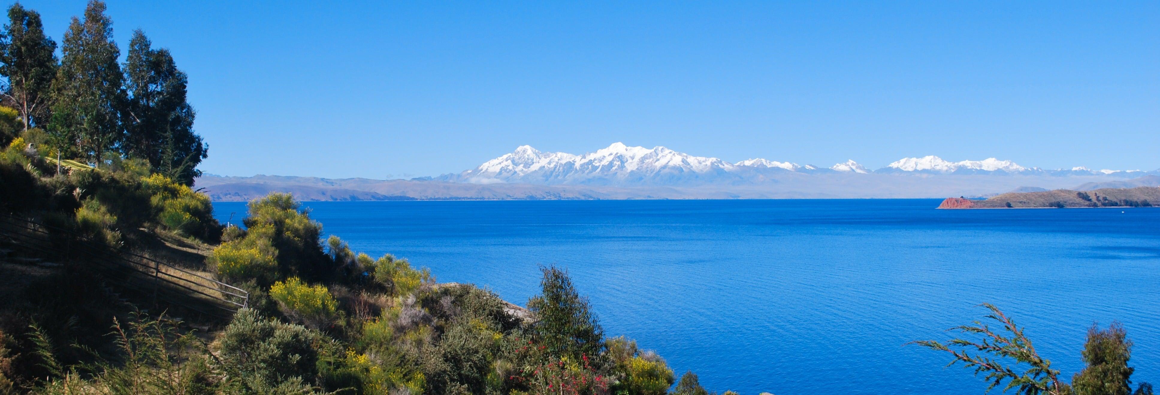 Catamarán por el Lago Titicaca y visita a la Isla del Sol