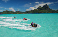 Tour in moto d'acqua a Bora Bora