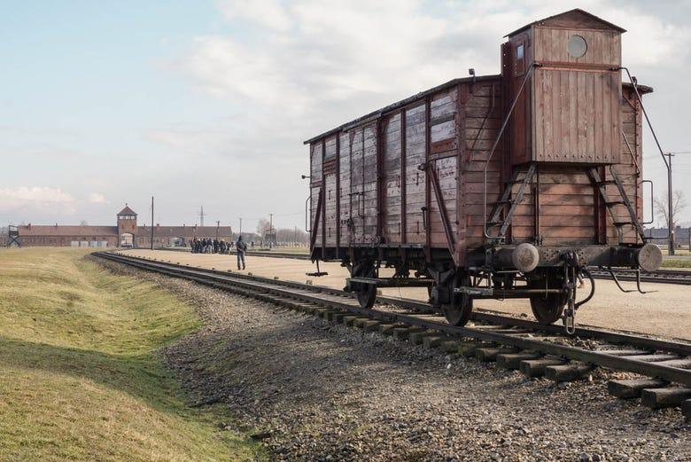Resultado de imagen para tren de auschwitz