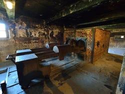 Forno crematorio di Auschwitz