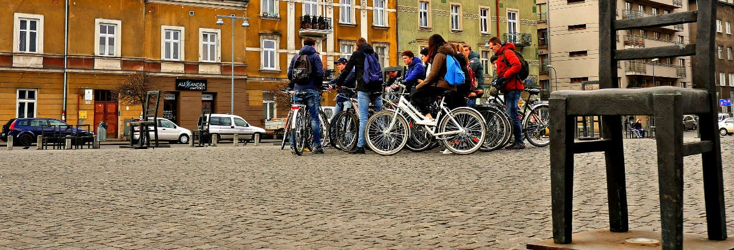 Tour di Cracovia in bicicletta