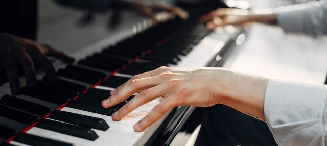Concerto di pianoforte con musica di Chopin