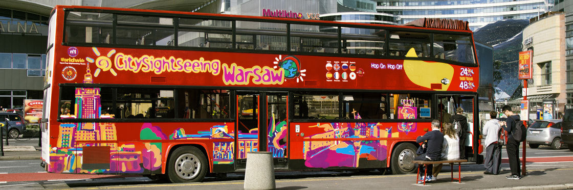 Bus touristique de Varsovie