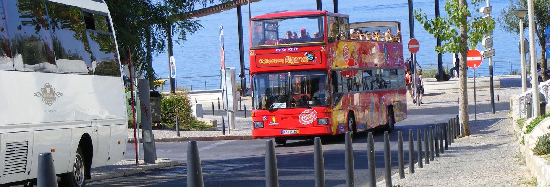 Autobús turístico de Albufeira