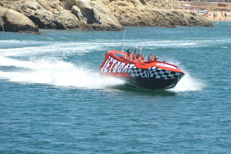 Jet boat à Albufeira