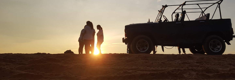 Jeep safari por Albufeira al atardecer