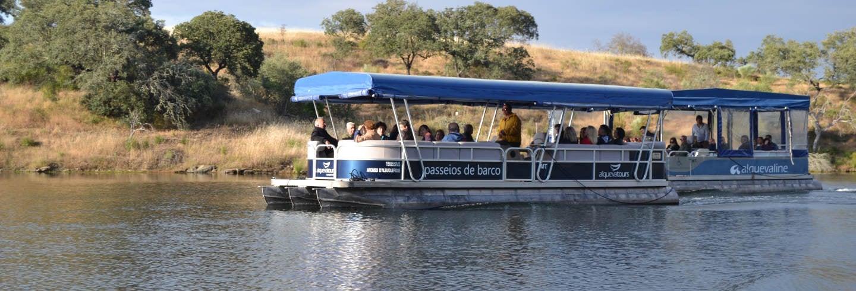 Giro in barca sul lago Alqueva
