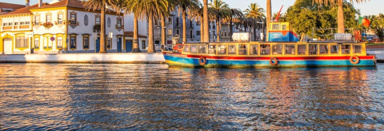 Balade en bateau sur la rivière d'Aveiro