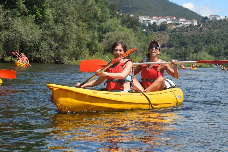 Balade en kayak sur le fleuve Mondego