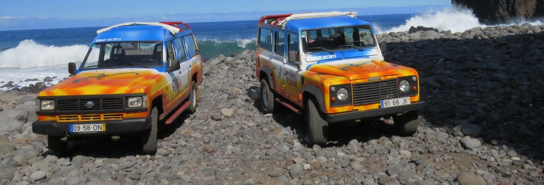 Jeep Safari por el este de Madeira