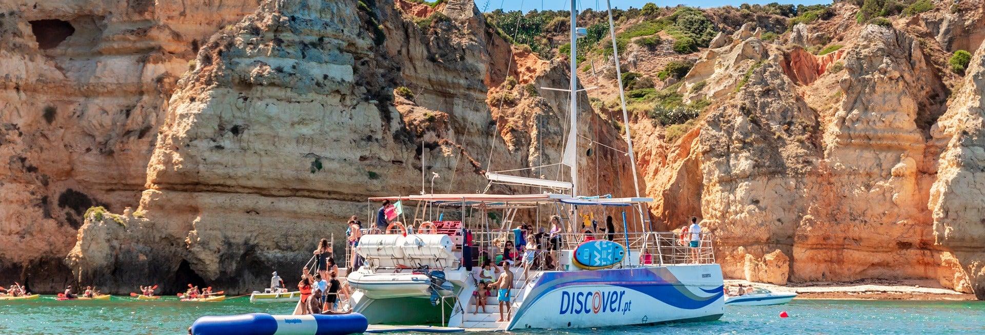 Paseo en catamarán a Praia da Luz