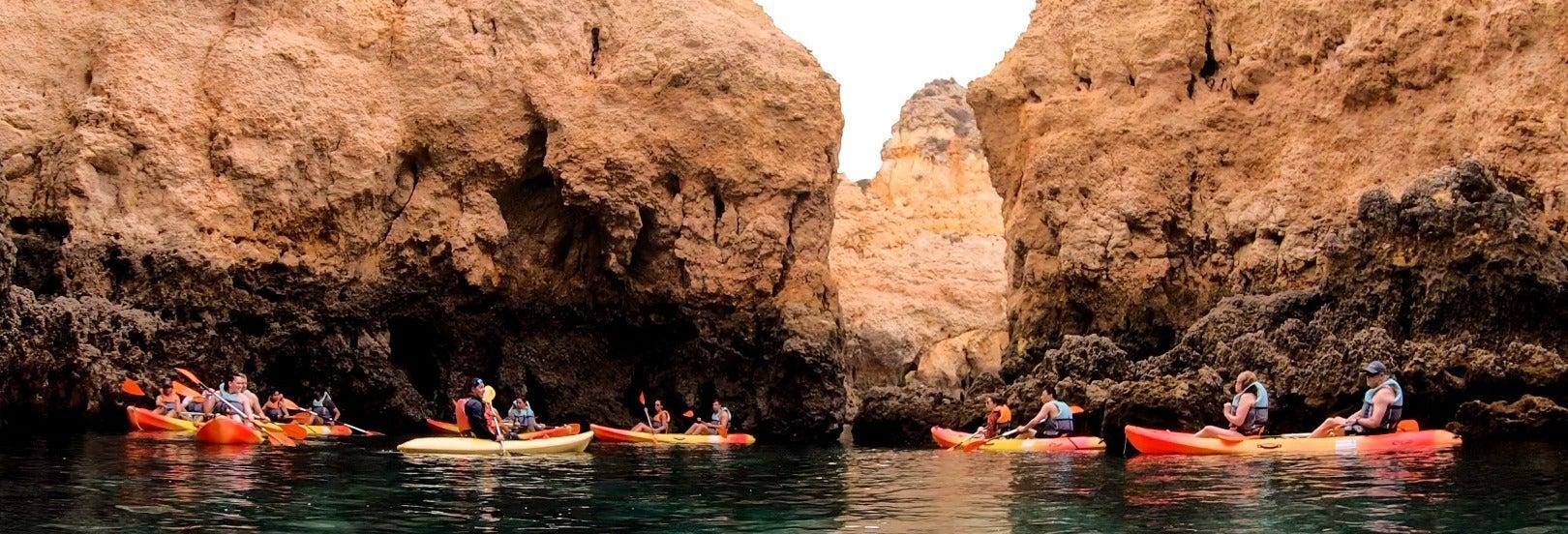 Tour en kayak por Ponta da Piedade