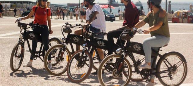 Aluguel de bicicleta elétrica em Lisboa