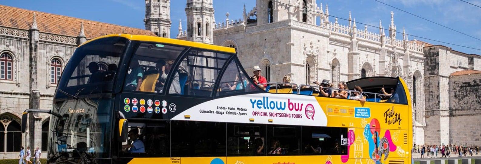 Autobus turistico di Lisbona