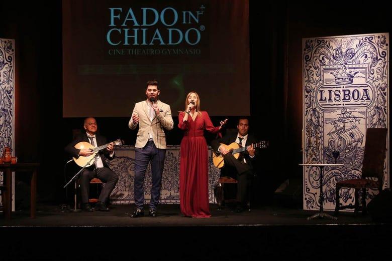 Spectacle de fado dans le Chiado