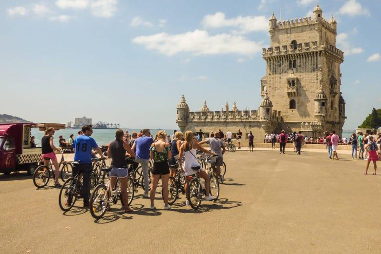Visite en vélo électrique dans Lisbonne