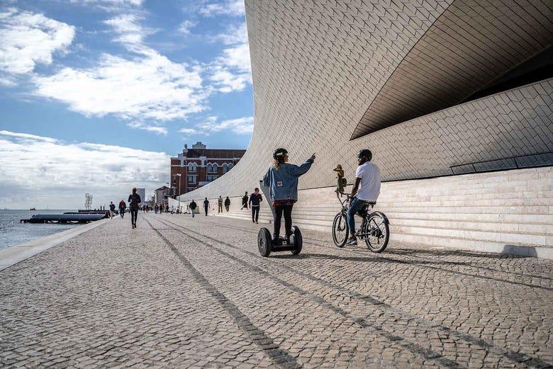 Balade en segway dans Lisbonne
