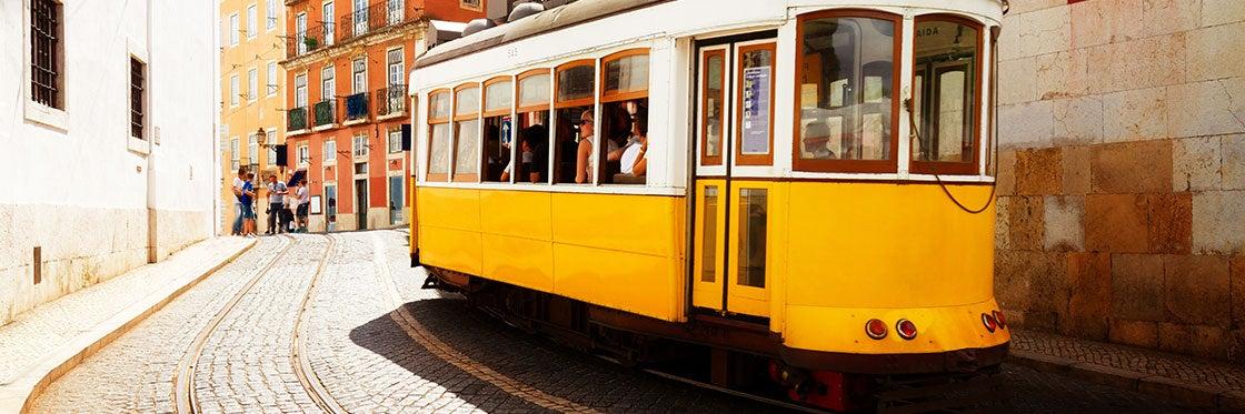 Tramway à Lisbonne