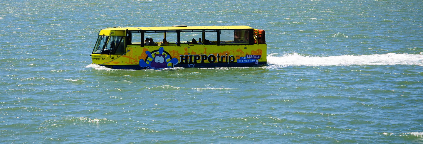 Lisbon Amphibious Bus Tour