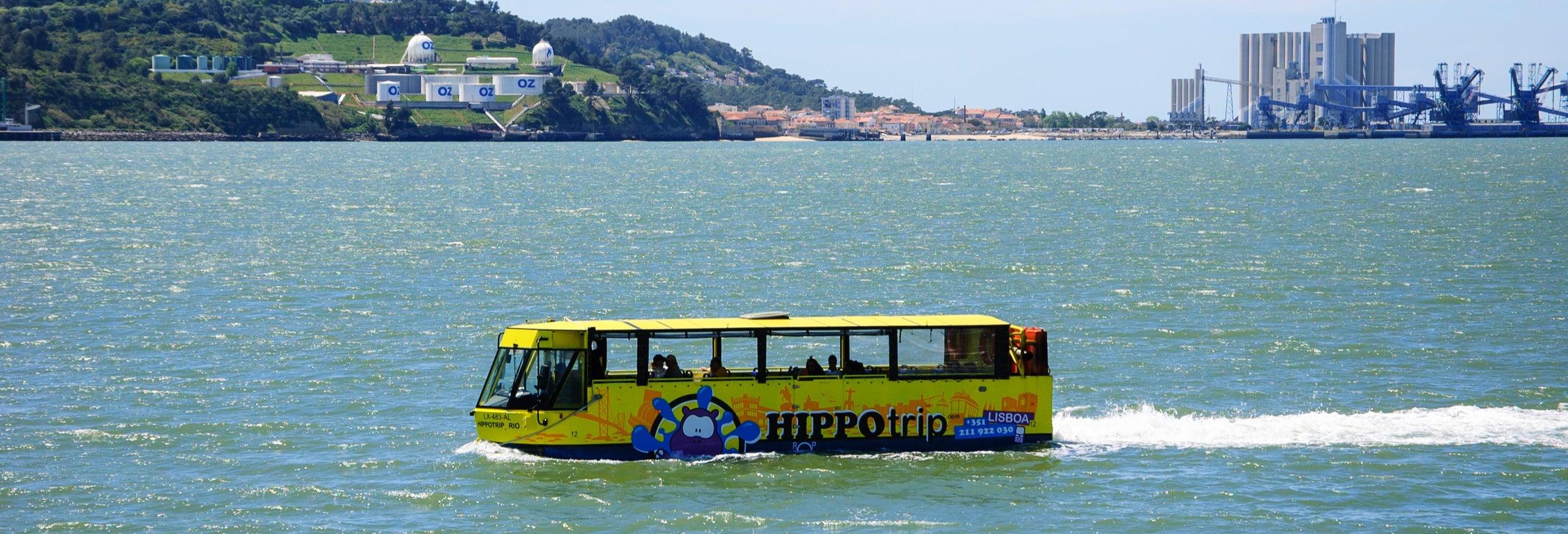 Tour en bus amphibie dans Lisbonne