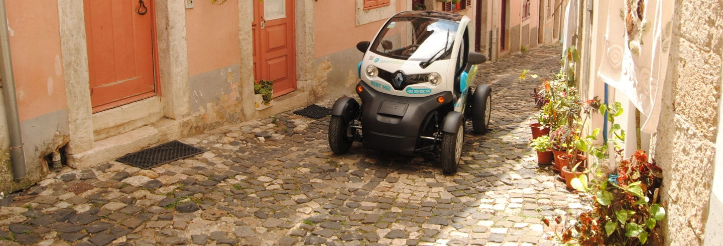 Tour of Lisbon in an Electric Car