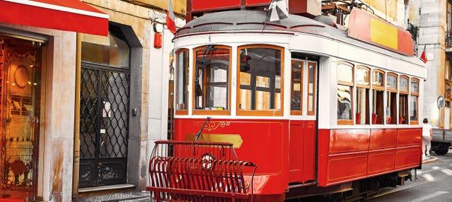 Tram turistico di Lisbona
