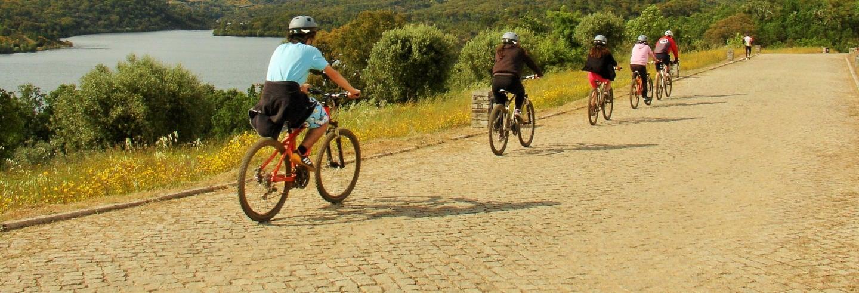 Tour en bicicleta por la Albufera del Azibo