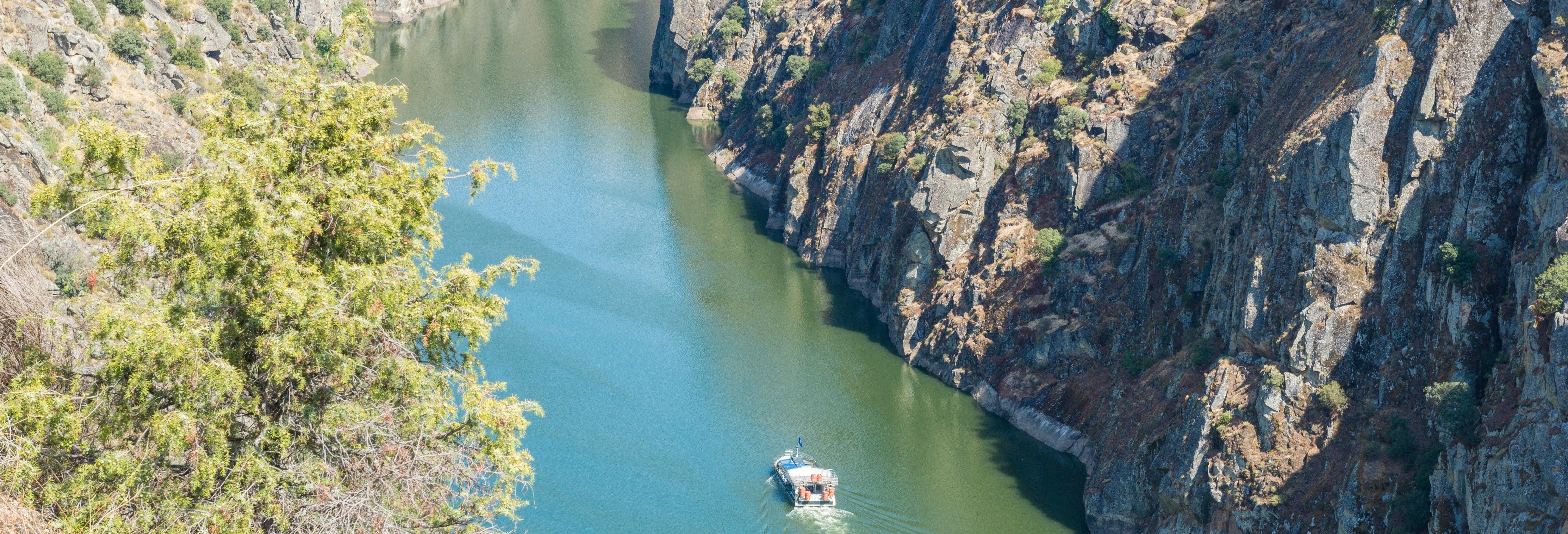 Passeio de barco pelas Arribas do Douro