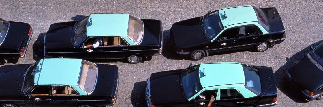 Táxis no Porto