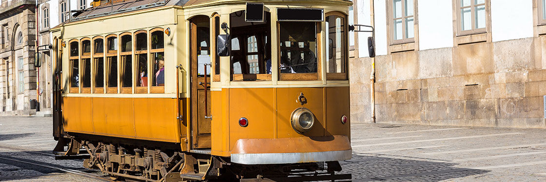 Trams in Porto
