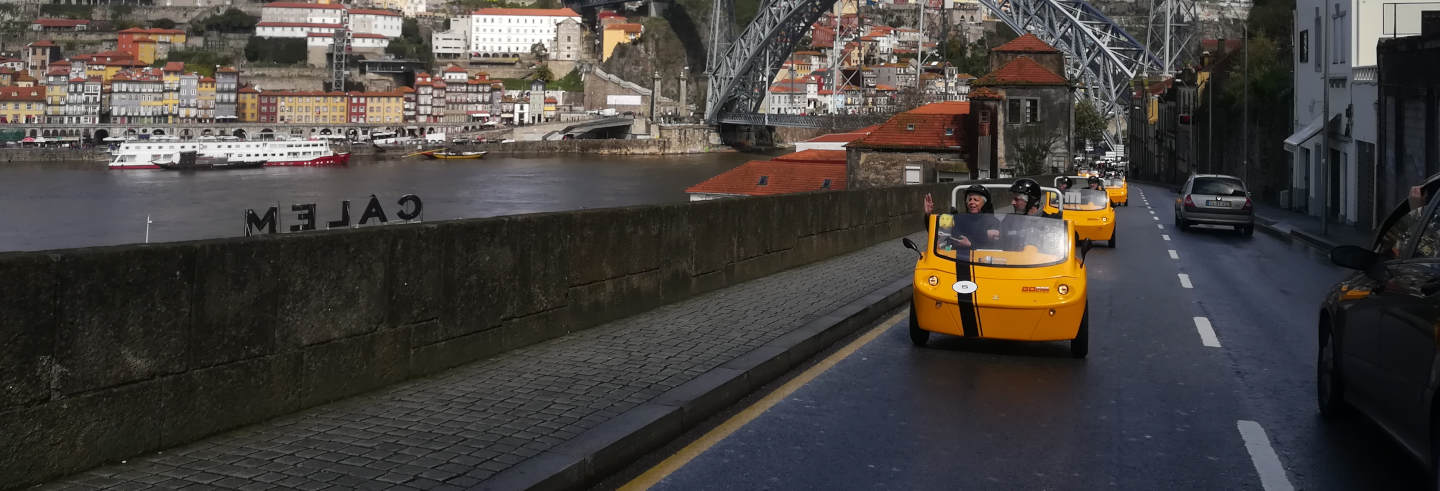 Porto Electric Car Tour
