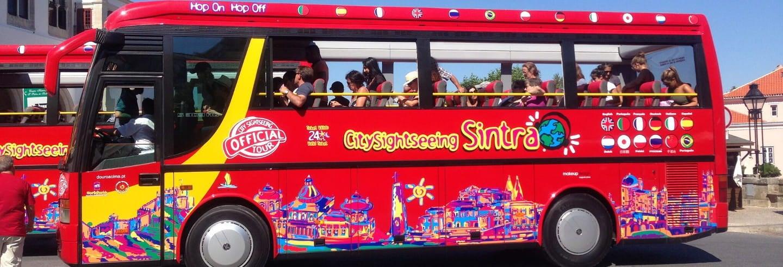 Autobus turistico di Sintra