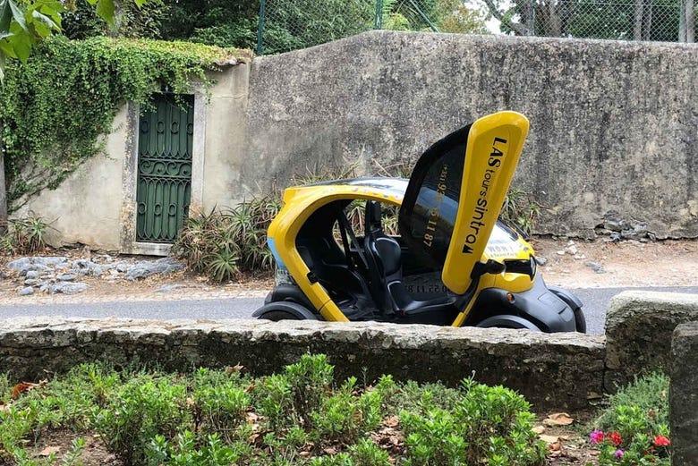 Balade en voiture électrique à Sintra