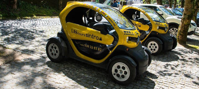 Tour en coche eléctrico por Sintra
