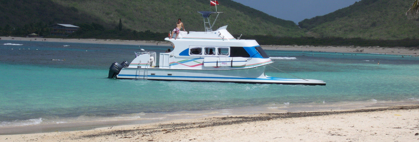Excursion sur l'île de Culebra en catamaran