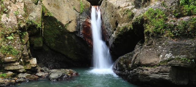 Excursión a cascada Las Delicias y petroglifos de Zama