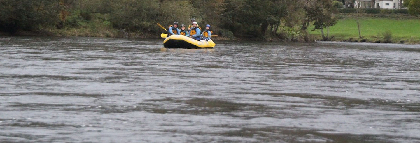 Rafting sul fiume Tay