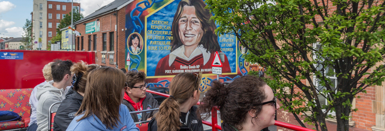 Belfast Hop On Hop Off Bus Tour