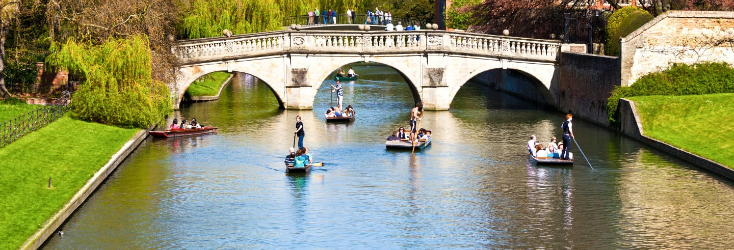 Tour de punting por Cambridge