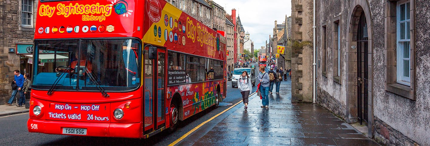 Edinburgh Tourist Bus