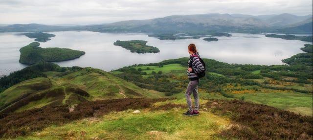 Excursión a Glasgow, lagos Lomond y Katrine