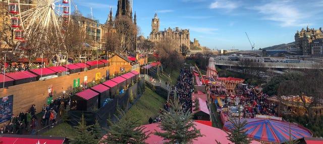 Tour navideño por Edimburgo