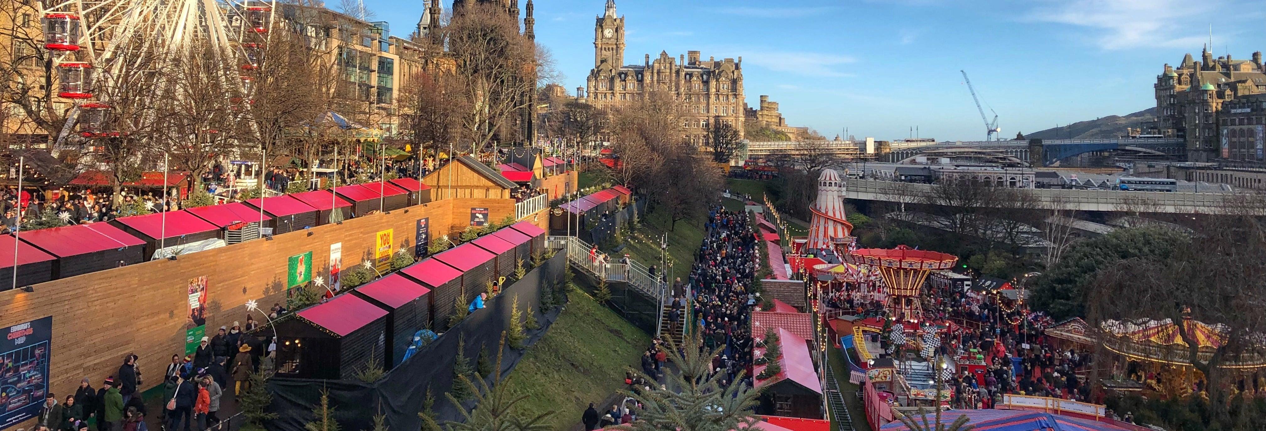 Tour de Natal por Edimburgo