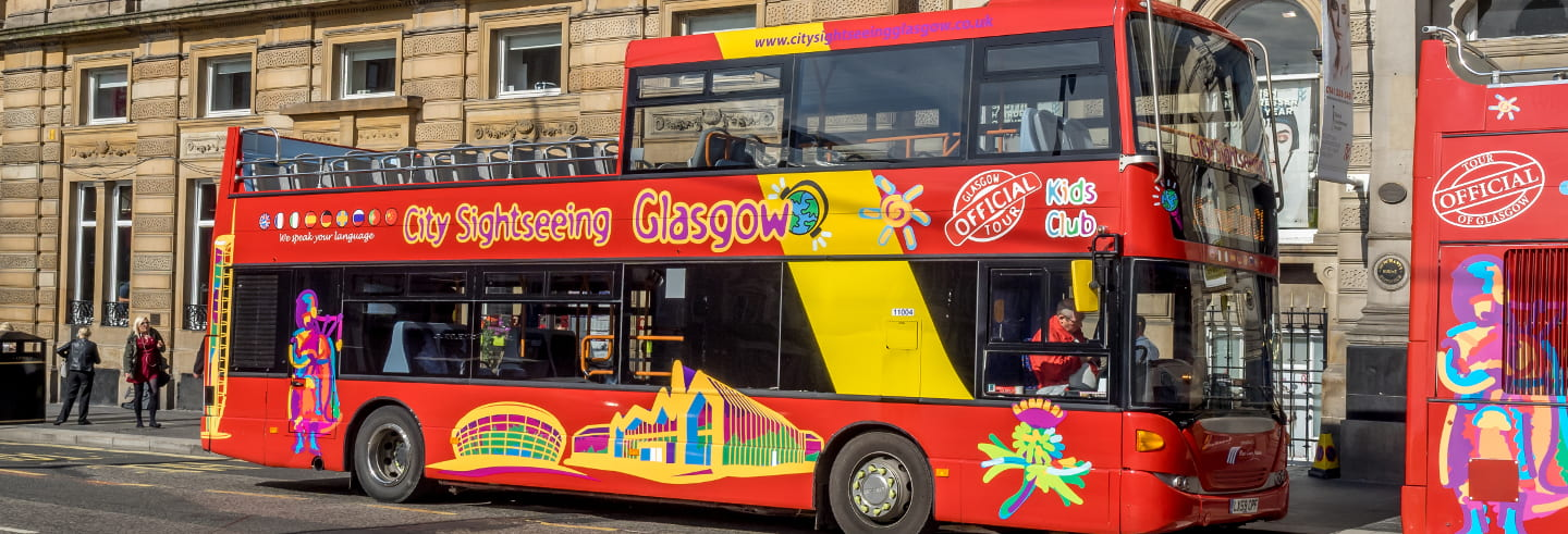 Ônibus turístico de Glasgow