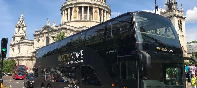 Autobus gastronomico di Londra